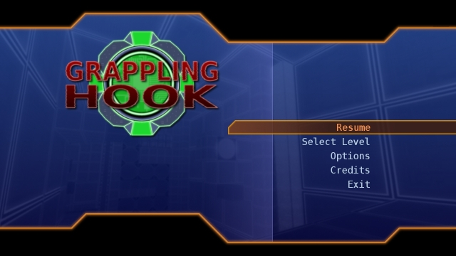 Grappling Hook - Main Menu